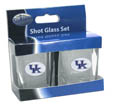 Kentucky Wildcats Shot Glass Set